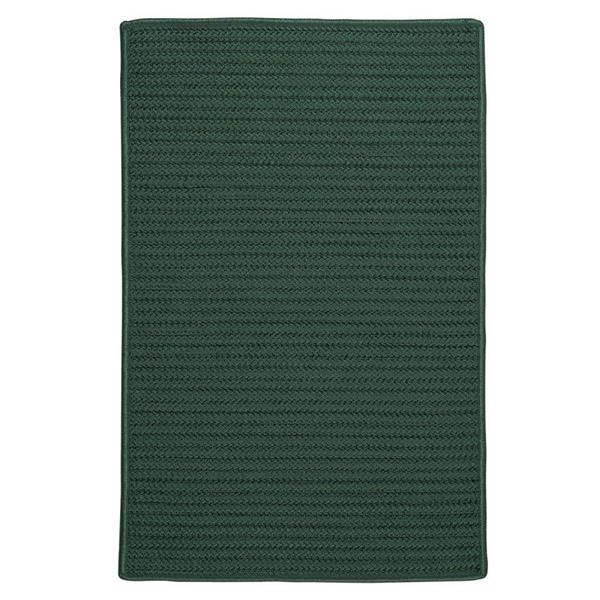 Colonial Mills Simply Home Solid 7-ft x 9-ft Myrtle Green Area Rug