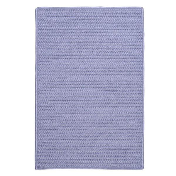 Colonial Mills Simply Home 7-ft x 9-ft Amethyst Solid Area Rug