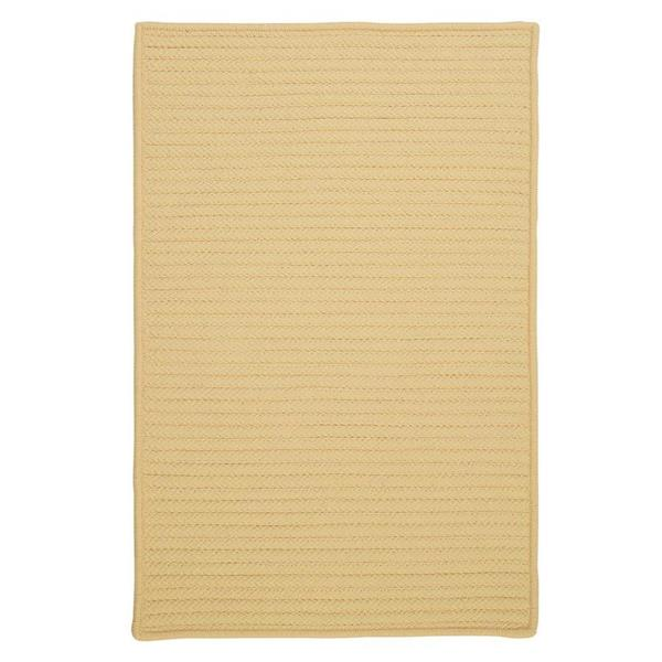 Colonial Mills Simply Home Solid 6-ft Pale Banana Square Area Rug