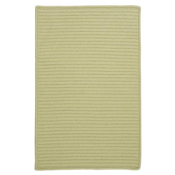 Colonial Mills Simply Home Solid 4-ft Square Celery Area Rug