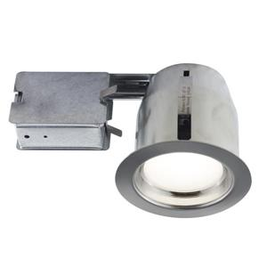 Bazz 5-in Chrome LED Recessed Kit for Damp Areas
