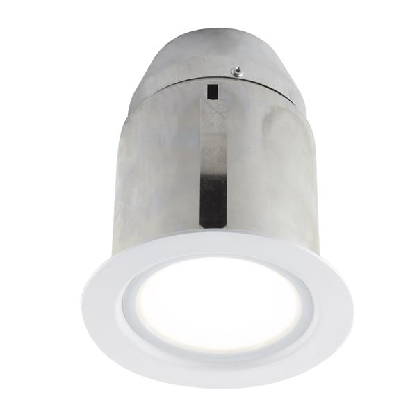 Bazz 4-in White LED Recessed Kit for Damp Areas