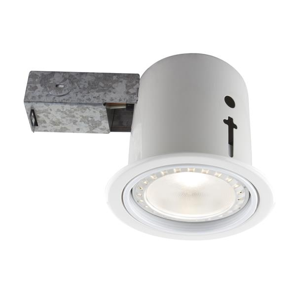 Bazz 5-in White Recessed LED Lighting Kit with PAR30 Bulb
