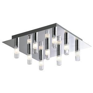 Plafonnier DEL intégré, 9 lumières