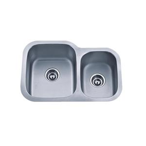 Double Basin Undermount Kitchen Sink - 27.13