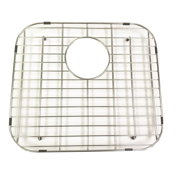 "Stainless Steel Bottom Grid - 16"" x 14"" x 16"""