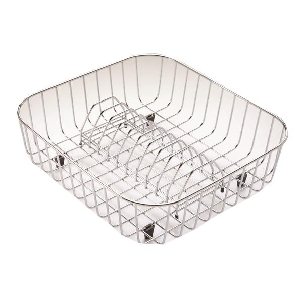 Wessan Stainless Steel Rinsing Grid - 15.75-in x 14.6-in x 15.75-in