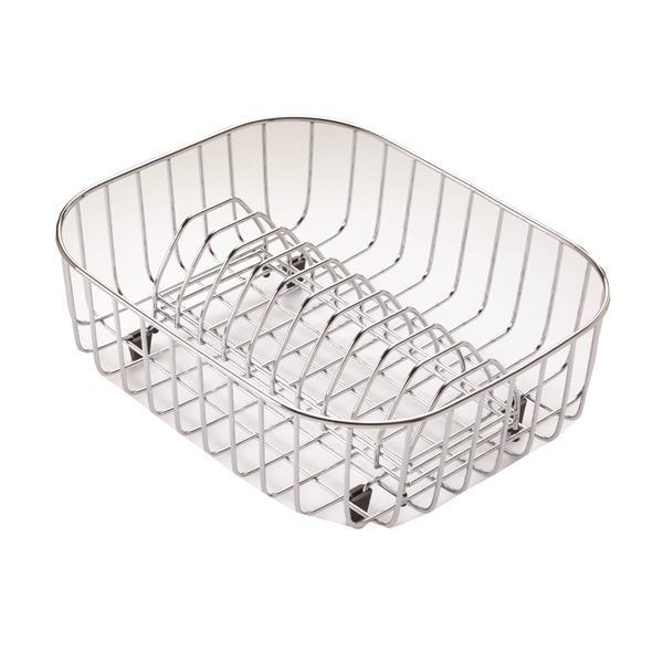 """Égouttoir à vaisselle en acier inoxydable, 14.2""""x11.6""""x14.2"""""""