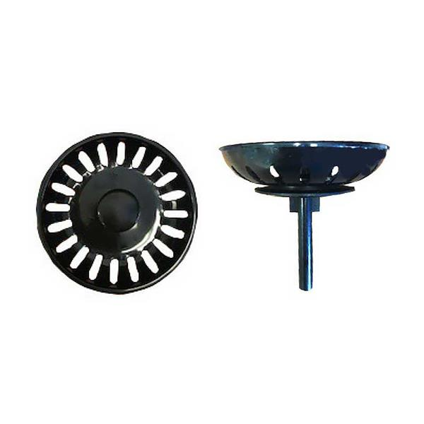 Wessan Coloured Plastic Strainer - Black