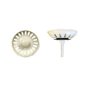 Wessan Coloured Plastic Strainer - Almond