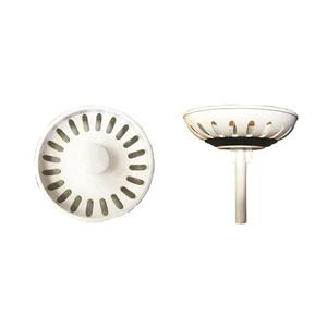Coloured Plastic Strainer - White