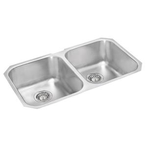Stainless Steel Double Undermount Sink - 18