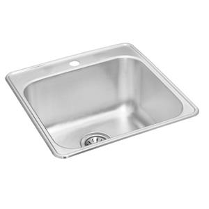 Wessan Stainless Steel Drop-In Utility Sink - 21-in x 24-in x 10-in