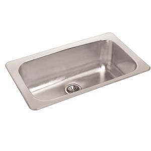Stainless Steel Drop-In Sink - 18