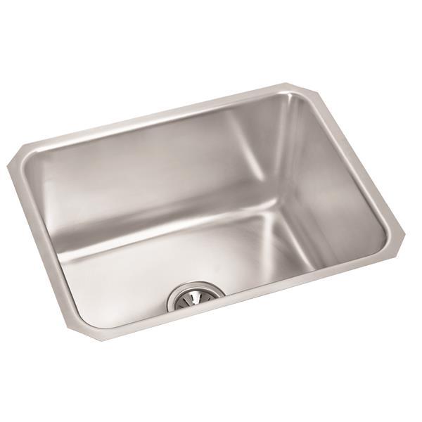 Wessan Stainless Steel Undermount Sink - 17 3/4-in x 23-in x 10-in