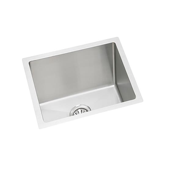Wessan Stainless Steel Undermount Sink - 17-in x 17-in x 8-in