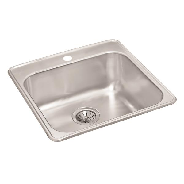 Wessan Stainless Steel Drop-In Sink - 20 7/8-in x 20 1/2-in x 9-in