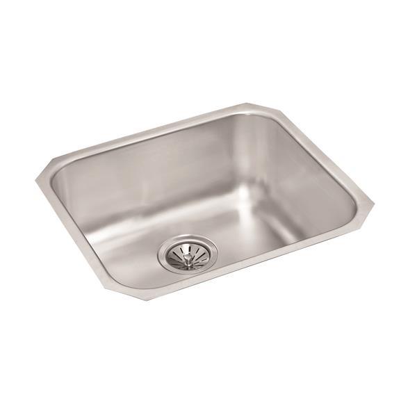 Wessan Stainless Steel Undermount Sink - 18-in x 20-in x 9-in