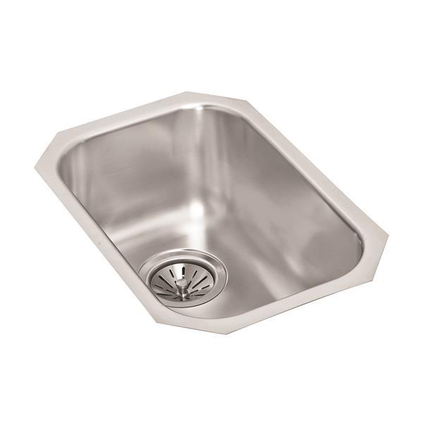 Wessan Stainless Steel Undermount Sink - 18-in x 12-in 8-in