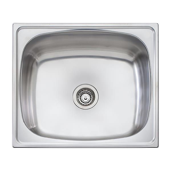 Wessan Stainless Universal Mount Sink - 24 3/4-in x 21 3/4-in x 12 1/2-in