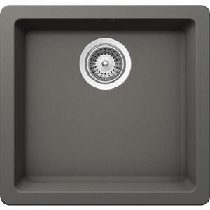 Wessan Granite Universal Mount Sink - 16 15/16-in x 17 3/4-in x 7 7/8-in
