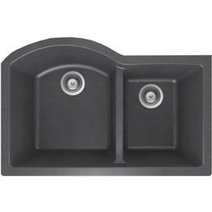Granite Double 1-3/4 Undermount Sink - 20