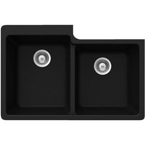 Double 1-3/4 Undermount Sink - 22
