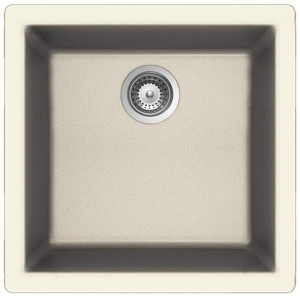 Wessan Universal Sink - 16 15/16-in x 17 3/4-in x 7 7/8-in - Magnolia