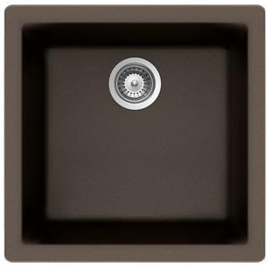 "Évier granite universel,16 15/16"" x 17 3/4"" x 7 7/8"", bronze"