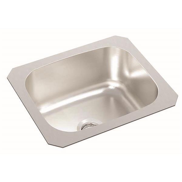 Wessan Stainless Steel Undermount Bar Sink 12 X 14 X 6 Wesp700