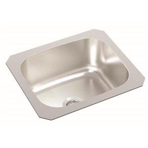 Wessan Stainless Steel Undermount Bar Sink - 12-in x 14-in x 6-in