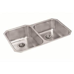 Stainless Double 1-¾ Undermount Kitchen Sink -20