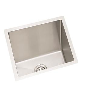Wessan Stainless Steel Undermount Sink - 18-in x 19-in x 9-in