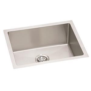 Wessan Stainless Steel Undermount Sink - 18-in x 24-in x 9-in