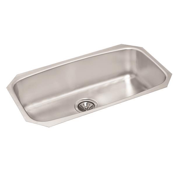 Wessan Stainless Steel Undermount Sink - 17-in x 29-in x 8-in