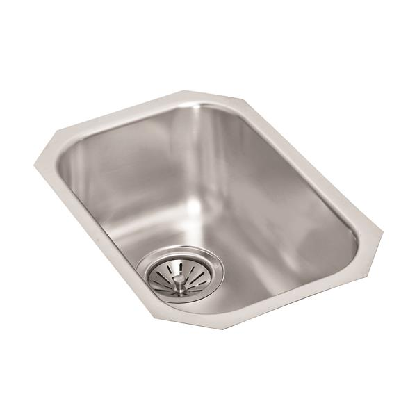 Wessan Stainless Steel Undermount Sink - 18-in x 12-in x 7-in