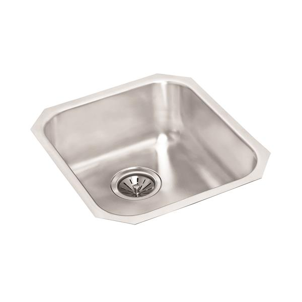 Wessan Stainless Steel Undermount Sink - 18-in x 16-in x 8'