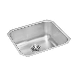 Wessan Stainless Steel Undermount Kitchen Sink - 18-in x 20-in x 8-in
