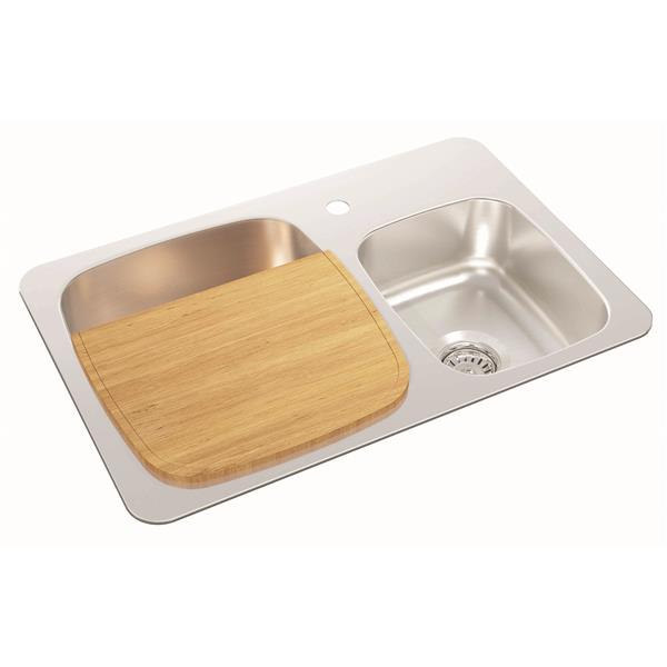 Wessan Rubberwood Cutting Board - 29 cm x 37 cm
