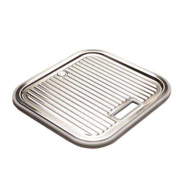 Stainless Steel Utility Tray - 37 cm x 40 cm x 13 cm