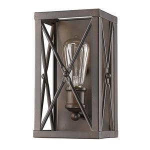 Acclaim Lighting Brooklyn 10-In Bronze Wall Sconce
