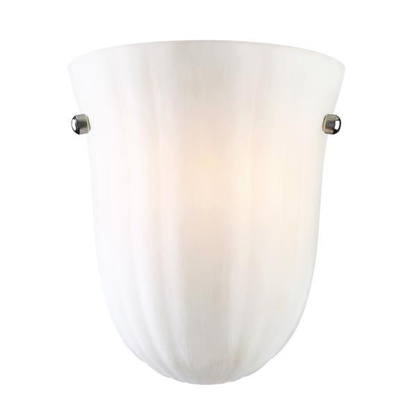 """Applique murale Baronne, 1 ampoule, 7,75"""", White"""
