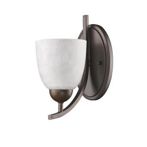 Acclaim Lighting Toulouse 10.5-in Bronze 1 Bulb Wall Light