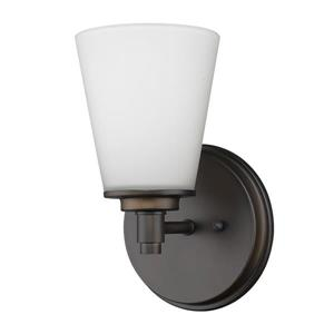 Acclaim Lighting Conti 10-in 1-Light Bronze Wall Sconce