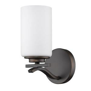 Acclaim Lighting Poydras 9.75-in Bronze 1 Bulb Wall Light