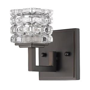 Acclaim Lighting Coralie 5.75-in 1-Light Bronze Wall Sconce
