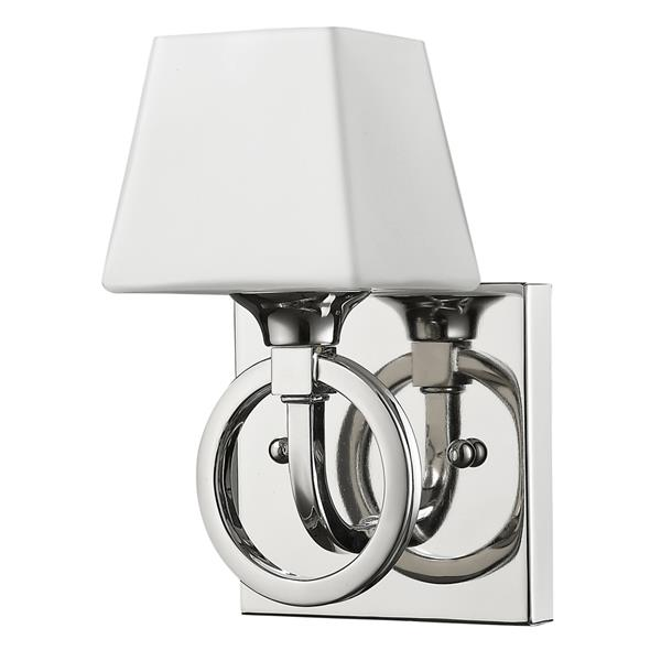 Acclaim Lighting Josephine 7.5-in Nickel Wall Sconce
