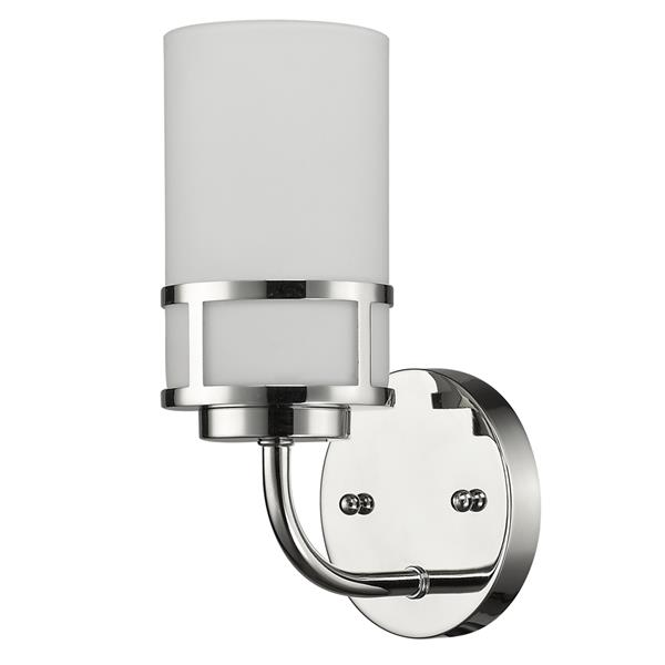 Acclaim Lighting Alexis 10-In Nickel Wall Sconce