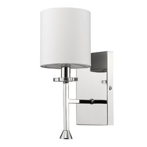 Acclaim Lighting Kara 11.75-in Nickel Wall Light