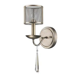 Acclaim Lighting Rita Wall Light 14.75-in Gold 1 Bulb